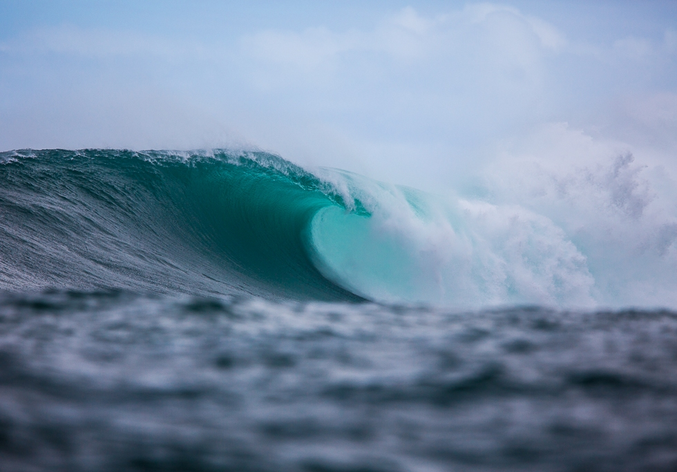 Dungeons big wave surfing Hout Bay, South Africa